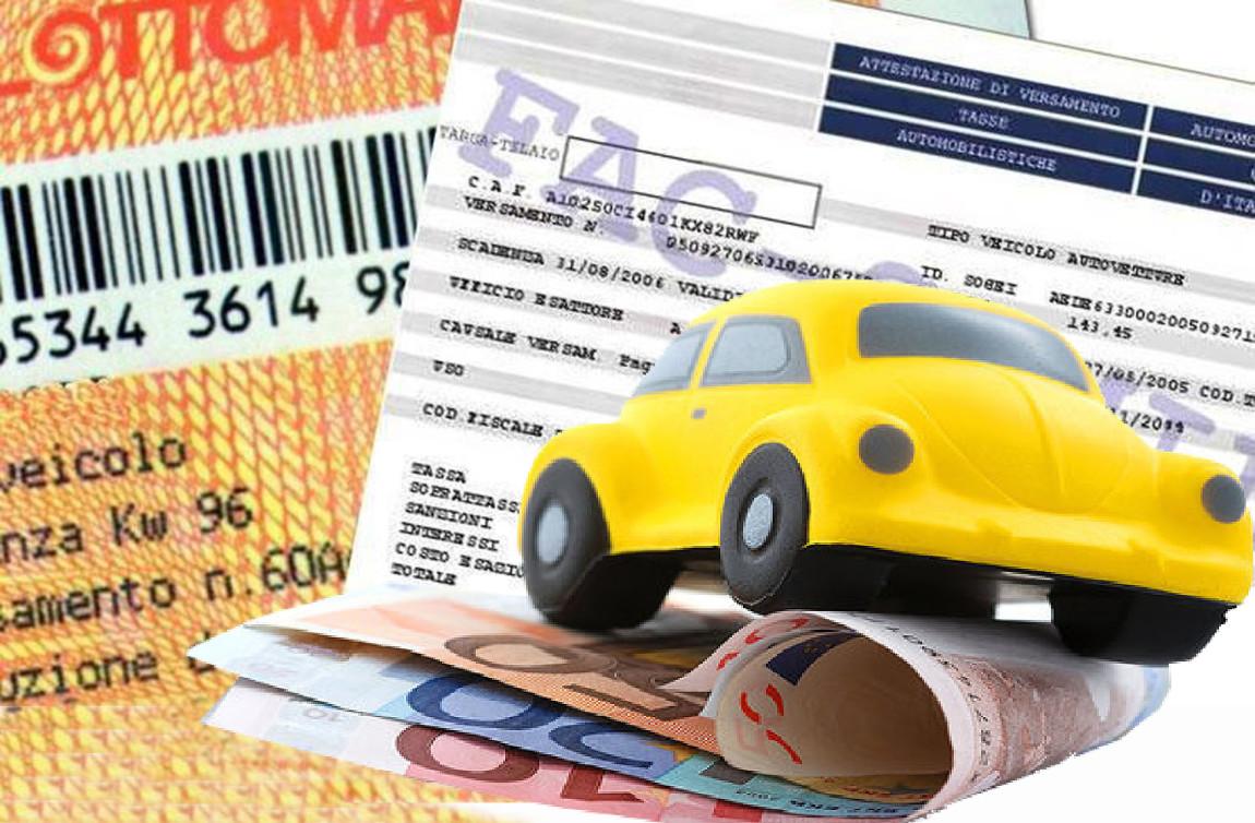 Bollo auto: chi non paga resta fermo