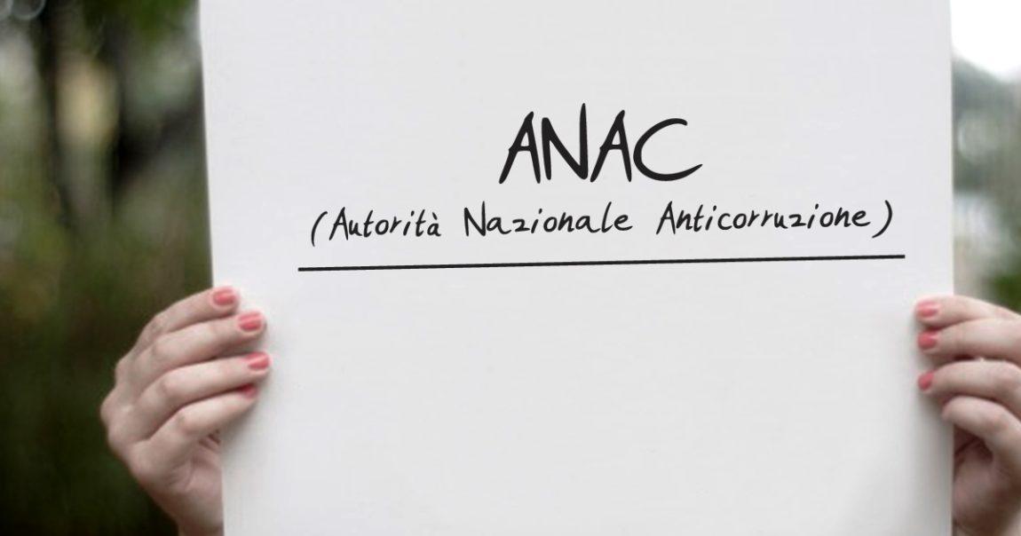 ANAC: aggiornamento delle Linee Guida n. 6