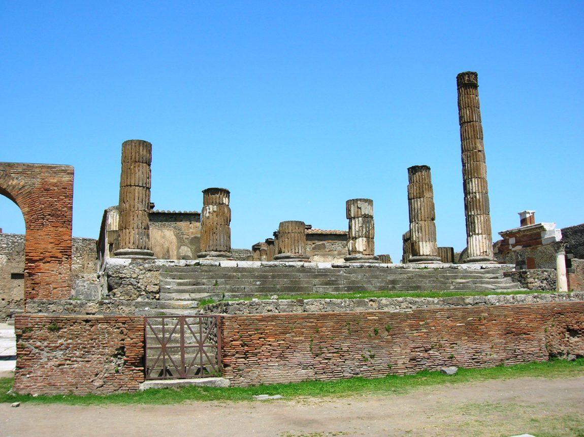 Il tempio di Giove Meilichio a Pompei
